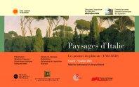 Paysages d'Italie - Les peintres du plein air (1780-1830)