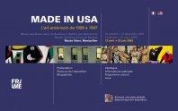 Made in USA - L'art américain de 1908 à 1947
