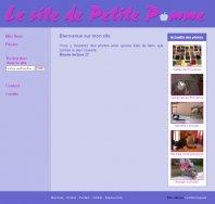 Le site de P'tite Pomme
